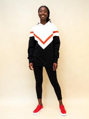 Philosophy Sweatshirt mit Kapuze mit Logoschriftzug in schwarz