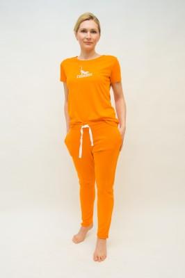 Quantum Courage Jogginghose orange